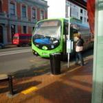 緑色のリンクバス