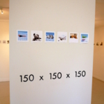 150 x 150=$150のアート