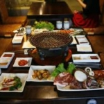 街の韓国レストラン