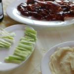 中華料理でお祝い