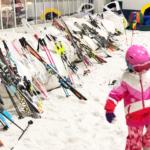 雪の降らないオークランドのスキー場